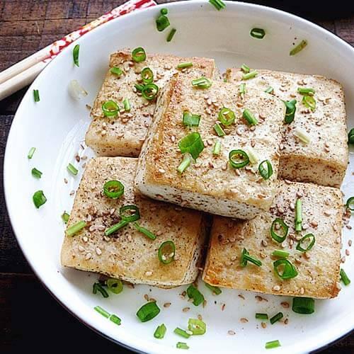 电烤炉之孜然豆腐
