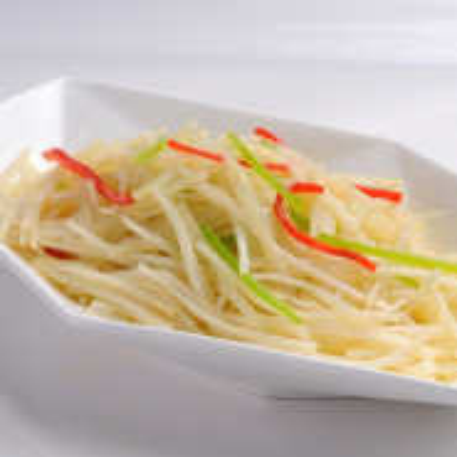 青椒土豆丝(家庭版)