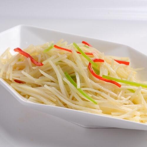 【美味可口】青椒土豆丝
