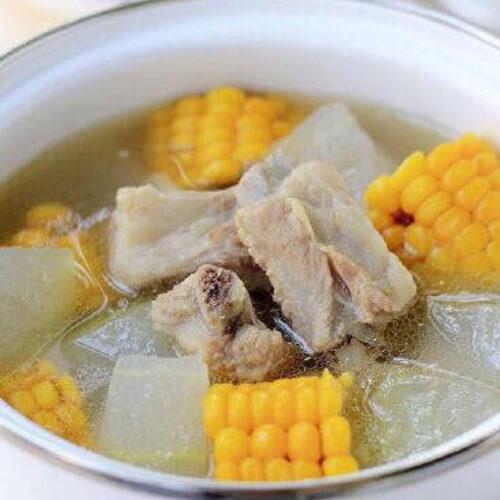 自制冬瓜薏米排骨汤