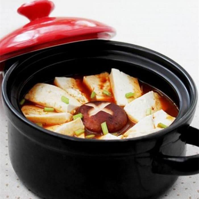 白菜香菇炖豆腐