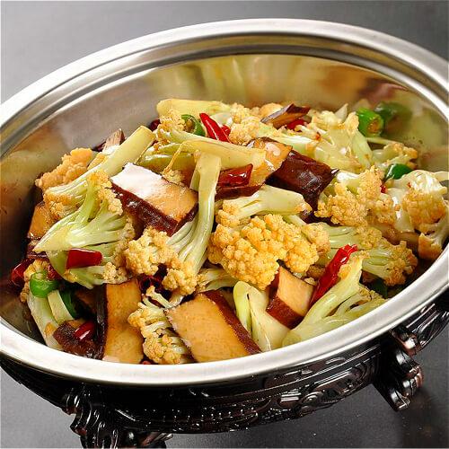 香干花菜炒肉