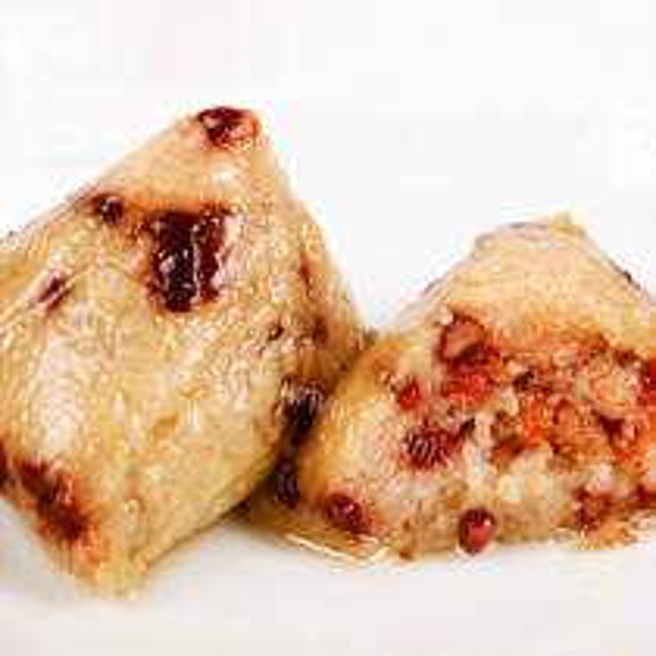 红豆蜜饯粽