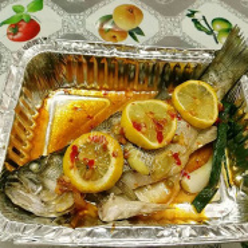 泰式柠檬烤黄鱼