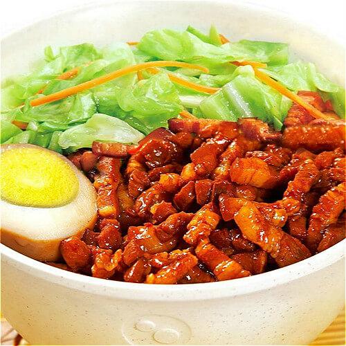 健康美食之台湾卤肉饭