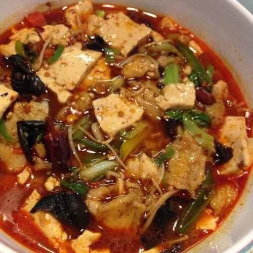 腾椒麻辣豆腐鱼