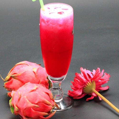 苹果火龙果蜂蜜汁