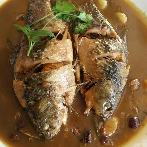 清炖水库鱼