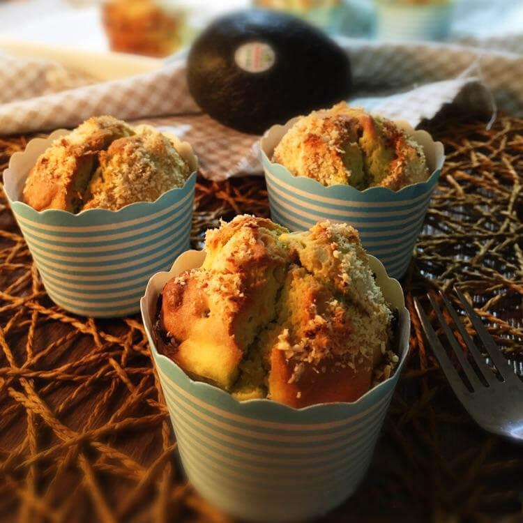 曼步厨房 - 菠萝苹果酱马芬