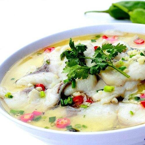 清淡版水煮酸菜鱼