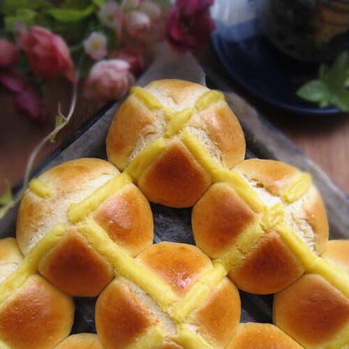 黑芝麻红薯早餐面包