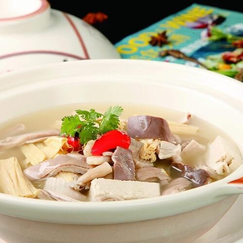 雪菜猪肚煮豆腐