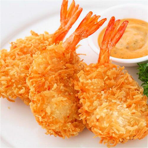 番茄面包虾