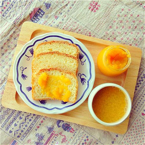 芒果小土司