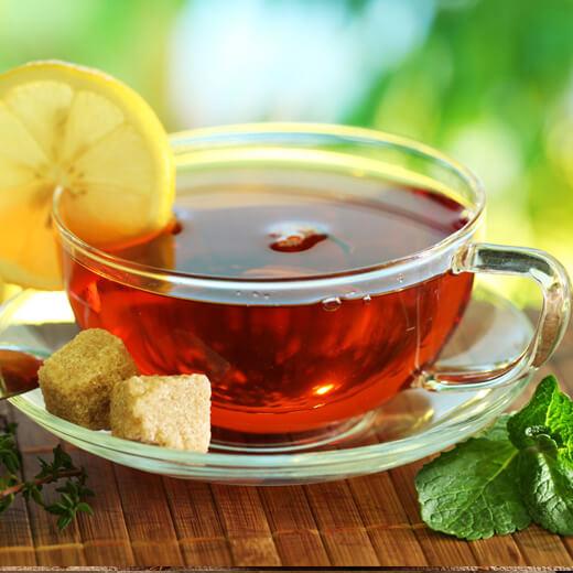 清凉蜂蜜柠檬薄荷茶