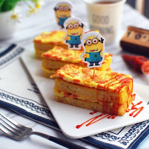 营养的面包机版番茄吐司