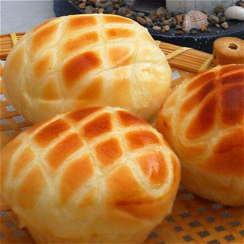 零难度超柔软红薯早餐面包