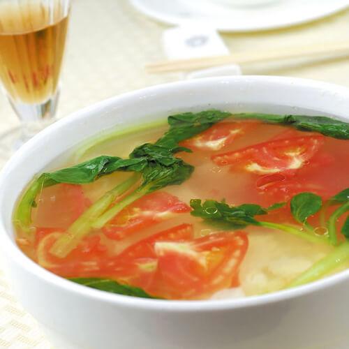 青菜西红柿汤