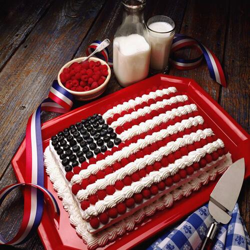 视频版国旗蛋糕