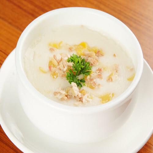 鸡蓉蘑菇粟米忌廉汤