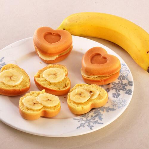 健康美食之香蕉蛋糕