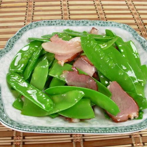 荷兰豆炒肉(懒人版)