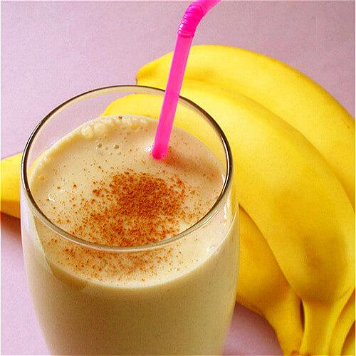 木瓜香蕉汁