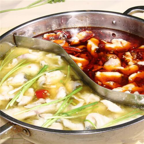 麻辣醇香的麻辣鸳鸯鱼火锅