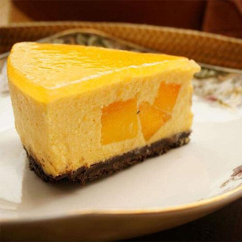 芒果酸奶冻芝士