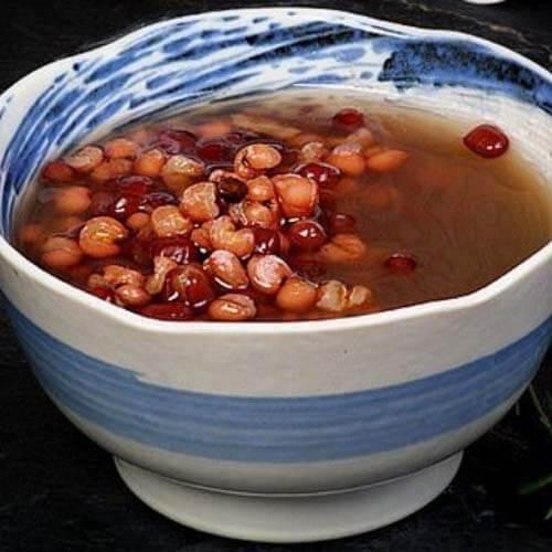 美味的薏米红豆汤