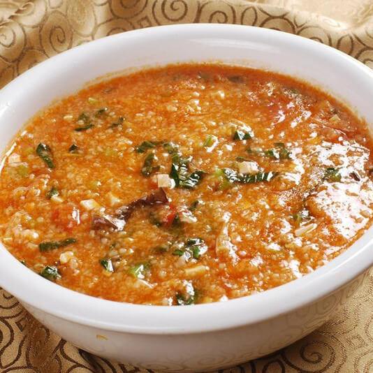 美味的番茄汤饭