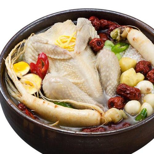 美味杂粮参鸡汤