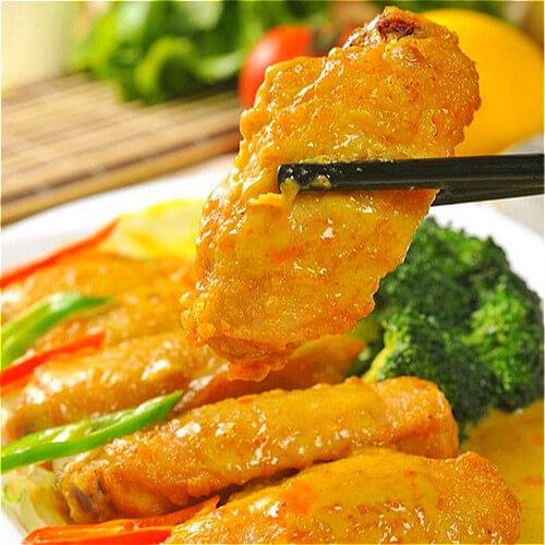 健康美食-咖喱鸡翅