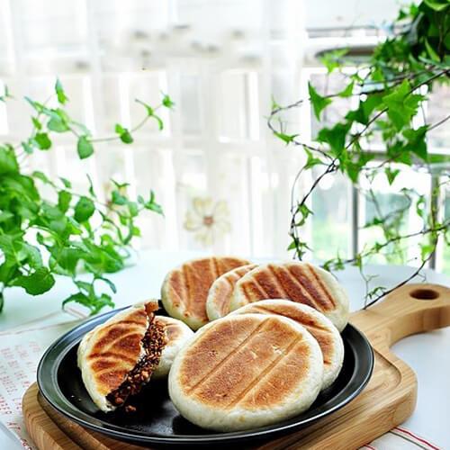 红糖花生糯米饼