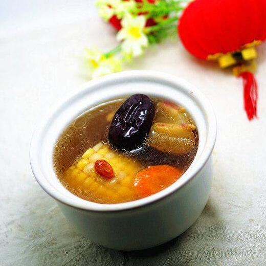 苦菜煲排骨汤
