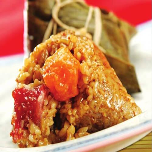 腊肉红枣粽