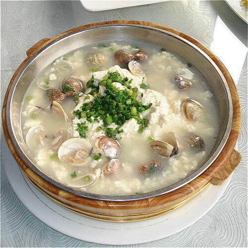 蛤蜊面蛤汤
