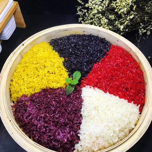清明节必备之五色糯米饭