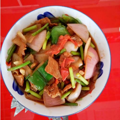 简单健康的洋葱炒肉