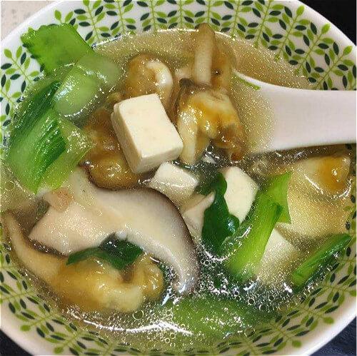 神奇的咸肉秀珍菇蛏子汤