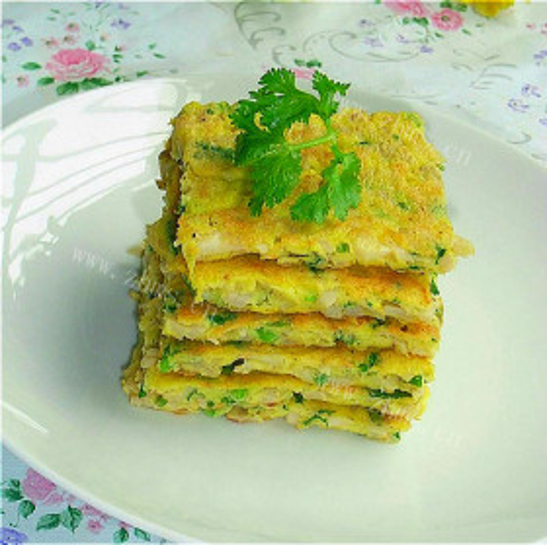 黑胡椒芹菜鸡蛋饼