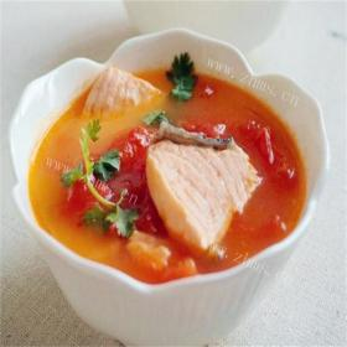 鱼骨豆腐番茄汤