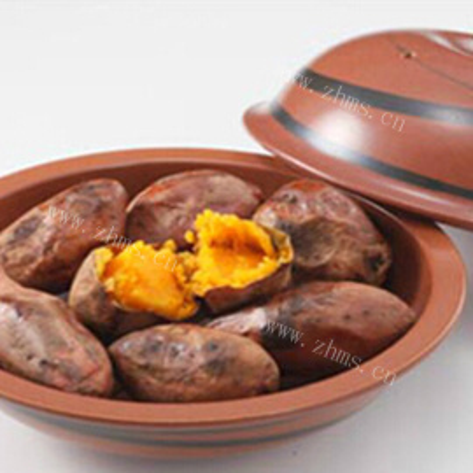 砂锅烤红薯(地瓜)