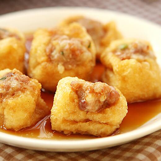 油豆腐味增