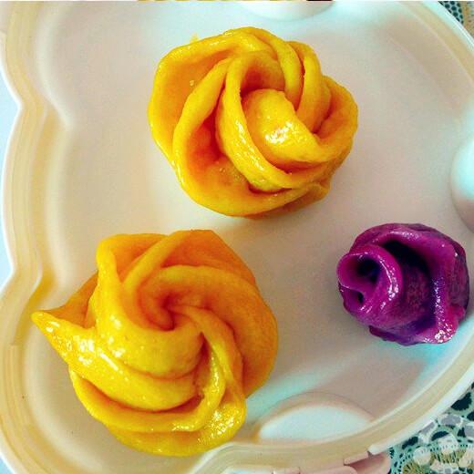 紫薯南瓜饺子