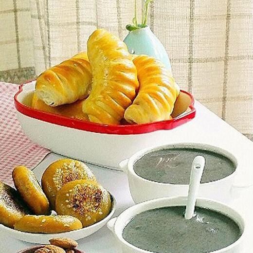 家常红薯早餐面包