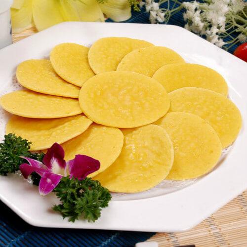 简单易做的玉米面饼子