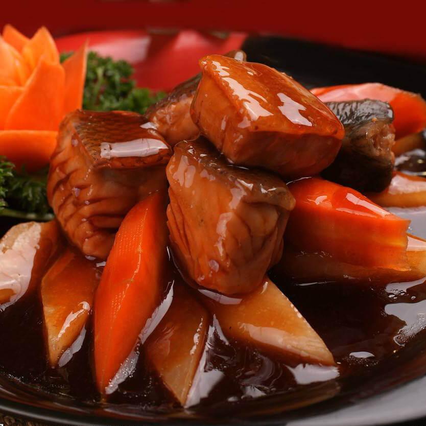 椒油马哈鱼