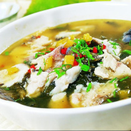 酸菜煮小黄鱼