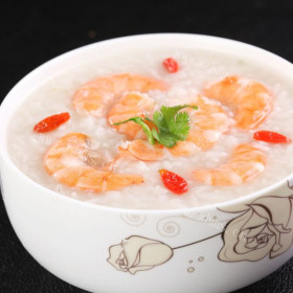 虾仁肉泥粥